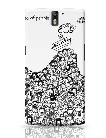 Sea Of People OnePlus One Covers Cases Online India