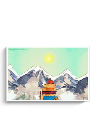 mountain_trek Poster Online India