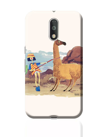 Llama Girl Moto G4 Plus Online India