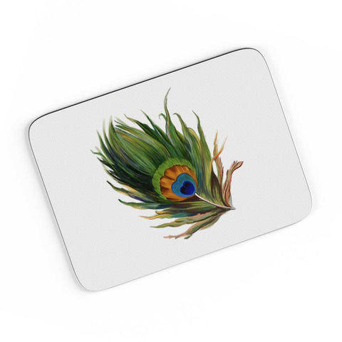 Peacock Feather A4 Mousepad Online India