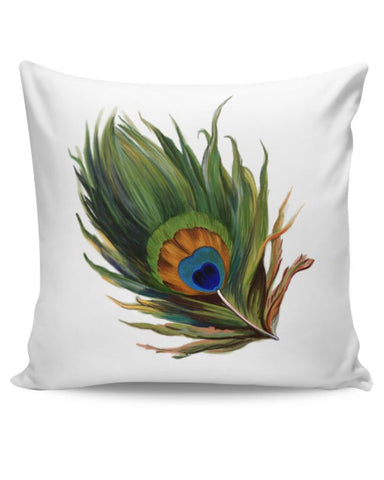Peacock Feather Cushion Cover Online India