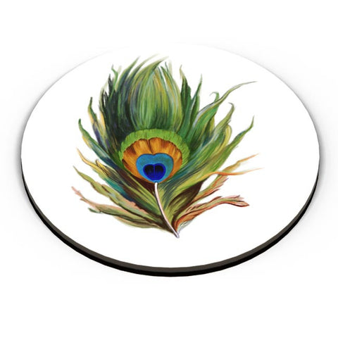 Peacock Feather Fridge Magnet Online India