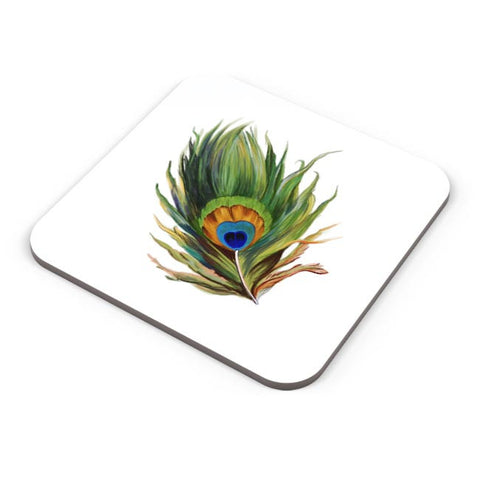 Peacock Feather Coaster Online India