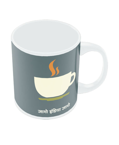 PosterGuy Jaago India Jaago White Coffee Ceramic Mug