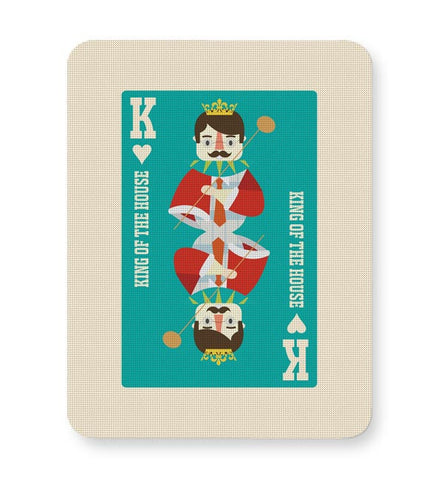 King Of My Heart Mousepad Online India