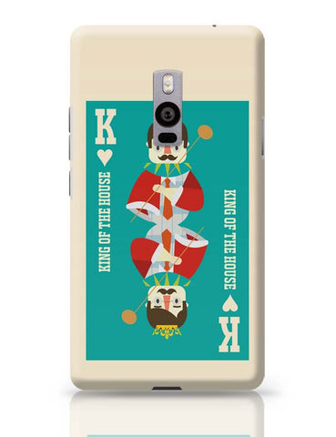 King Of My Heart OnePlus Two Covers Cases Online India