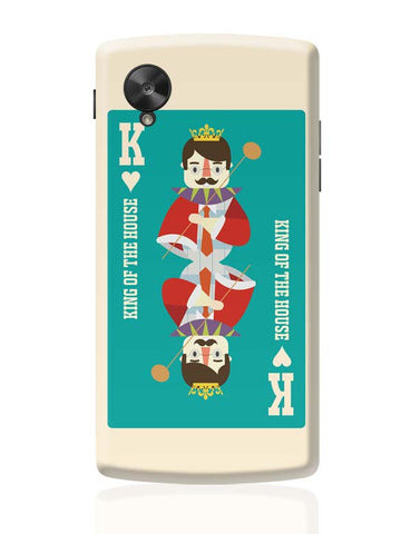 King Of My Heart Google Nexus 5 Covers Cases Online India
