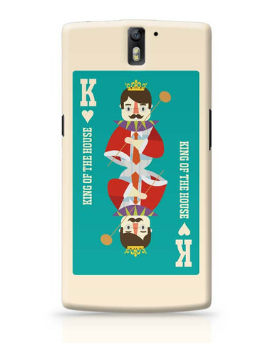 King Of My Heart OnePlus One Covers Cases Online India
