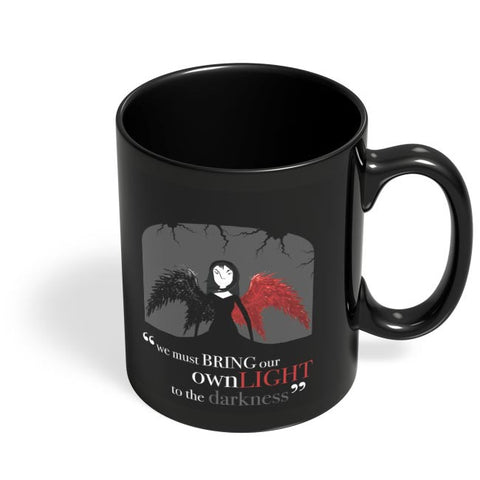 Your Own Light Black Coffee Mug Online India