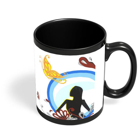 Bliss Black Coffee Mug Online India