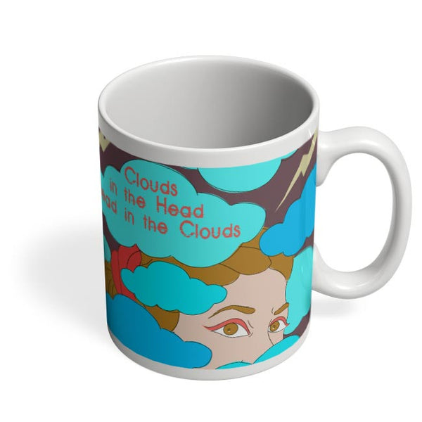 Clouds In The Head Coffee Mug Online India