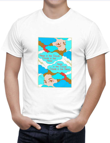 Buy Clouds In The Head Woman T-Shirts Online India | Clouds In The Head T-Shirt | PosterGuy.in