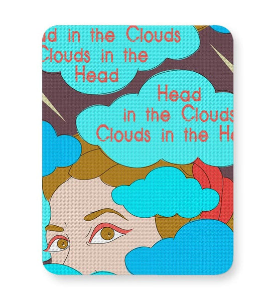 Clouds In The Head Mousepad Online India