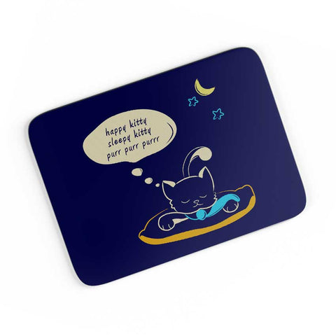 Sleepy Kitty A4 Mousepad Online India