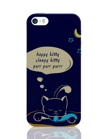 Sleepy Kitty iPhone Covers Cases Online India