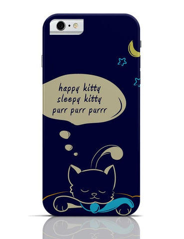 Sleepy Kitty iPhone 6 6S Covers Cases Online India