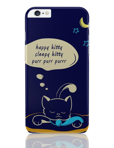Sleepy Kitty iPhone 6 Plus / 6S Plus Covers Cases Online India