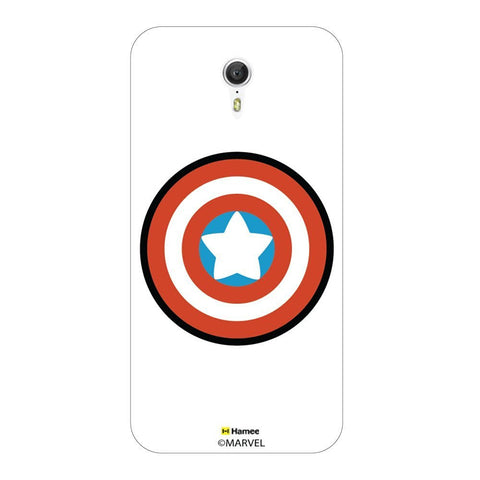 Cute Captain America Logo Lenovo Zuk Z1 Case Cover