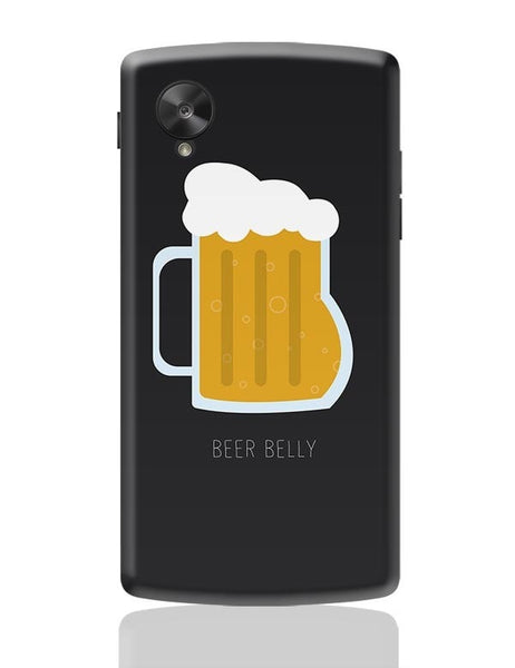 beer belly Google Nexus 5 Covers Cases Online India