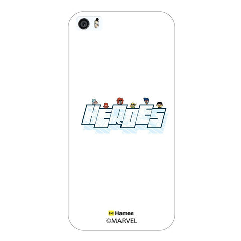 Cute Heroes Avengers White iPhone 6 Plus / 6S Plus Case Cover