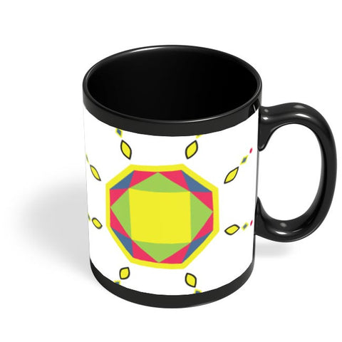 Patterign Black Coffee Mug Online India