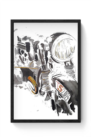 Abstract Machine Framed Poster Online India