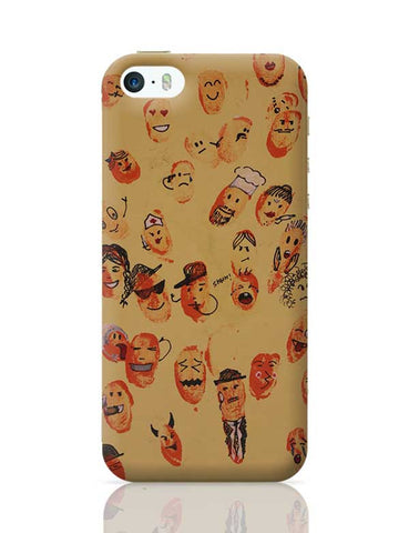 Characters. iPhone 5/5S Covers Cases Online India