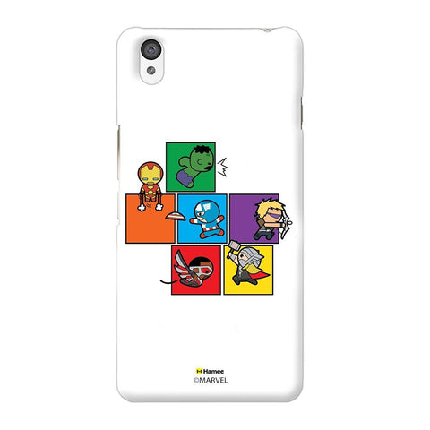 Cute Avengers Blocks White Oneplus X Case Cover