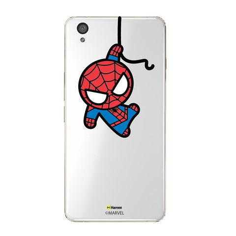Cute Spiderman Clear Oneplus X Case Cover
