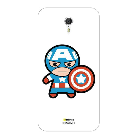 Cute Captain America Lenovo Zuk Z1 Case Cover