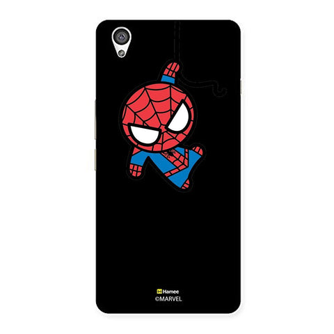 Black Cute Spiderman  Oneplus X Case Cover