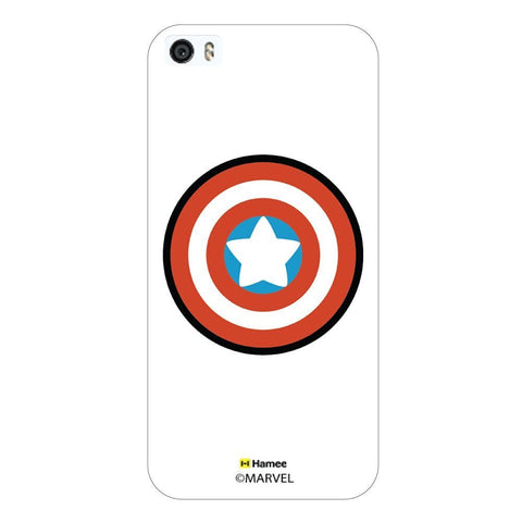 Cute Captain America Shield White iPhone 6 Plus / 6S Plus Case Cover