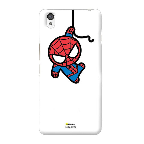 Cute Spiderman White Oneplus X Case Cover