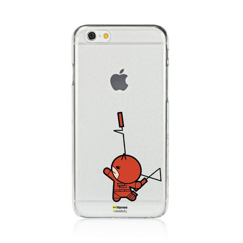 Cute Dare Devil Clear iPhone 6S/6 Case Cover