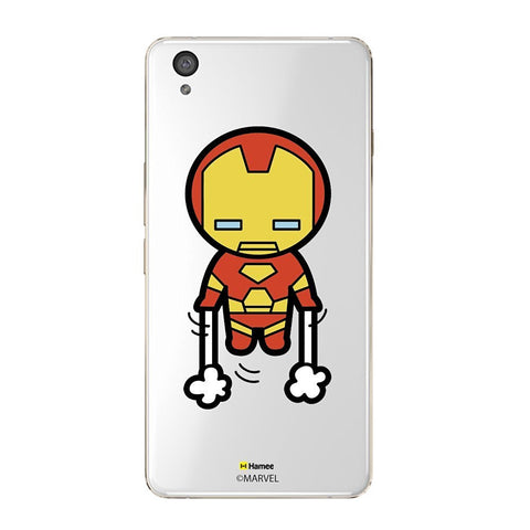 Cute Ironman Clear Oneplus X Case Cover