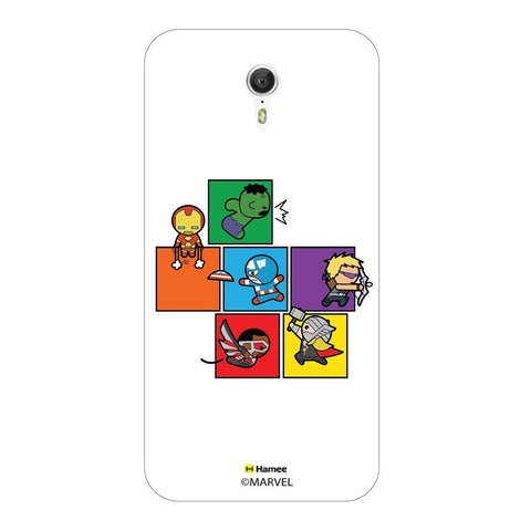 Cute Avengers Blocks Lenovo Zuk Z1 Case Cover