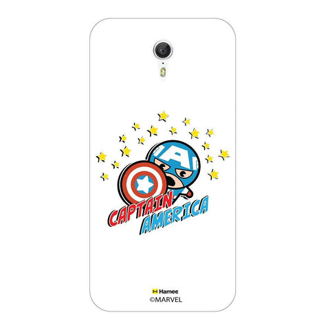 Cute Captain America Stars Lenovo Zuk Z1 Case Cover