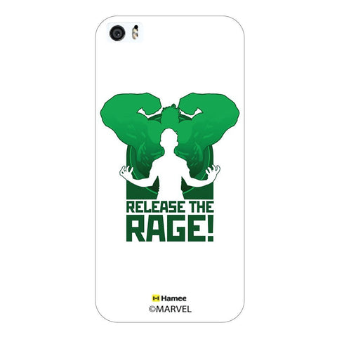 Release The Rage Hulk White iPhone 6 Plus / 6S Plus Case Cover