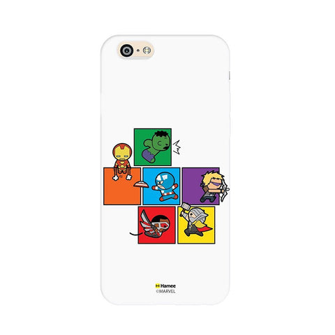 Cute Superheroes White iPhone 5 / 5S Case Cover