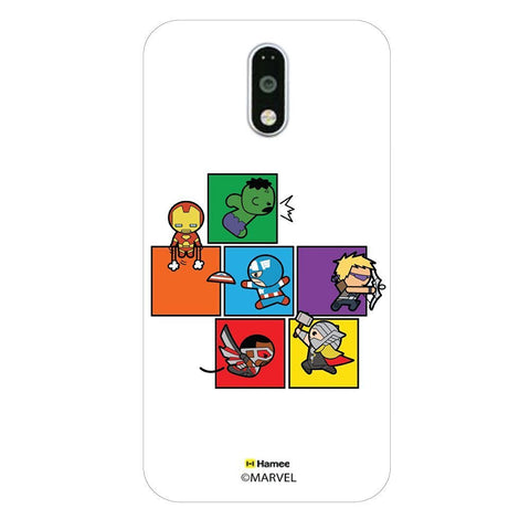 Cute Avengers Blocks  Moto G4 Plus Case Cover