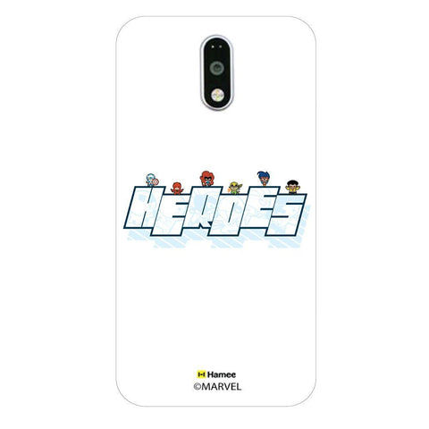 Cute Avengers Heroes Logo  Moto G4 Plus Case Cover