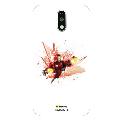 Ironman Red Blast  Moto G4 Plus Case Cover