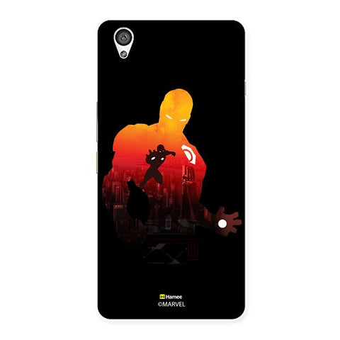 Black Iron Man Shadow  Oneplus X Case Cover