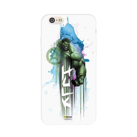 Hulk Watercolour White iPhone 6S/6 Case Cover