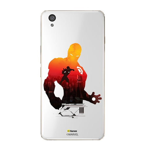 Iron Man Shadow Clear Oneplus X Case Cover
