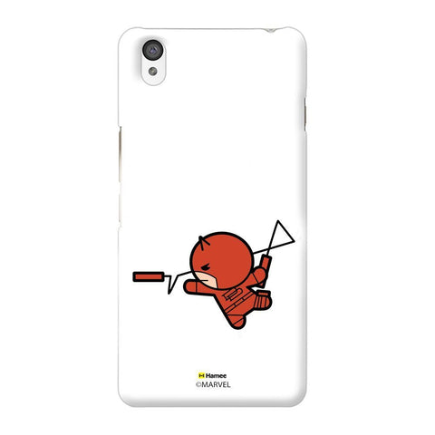 Cute Daredevil White Oneplus X Case Cover