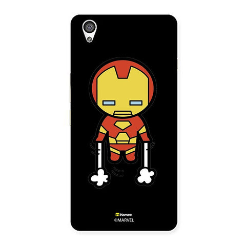 Black Cute Ironman  Oneplus X Case Cover