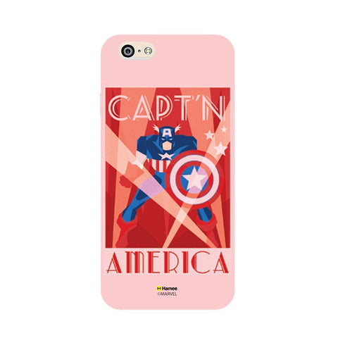 Captain America Deco  iPhone 6 Plus / 6S Plus Cover Case