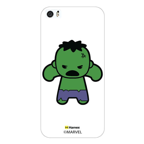 Cute Hulk White iPhone 5/5S Case Cover