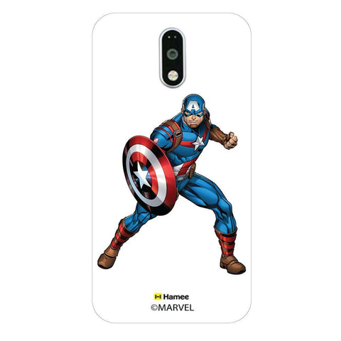 Captain America Action  Moto G4 Plus Case Cover